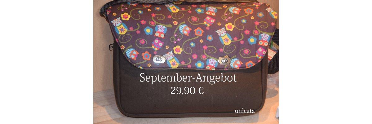 Angebot zum September -