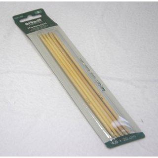 Strumpfstricknadeln Bambus 20cm