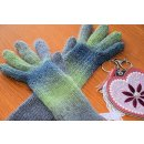 Fingerhandschuhe mit langem Farbverlauf
