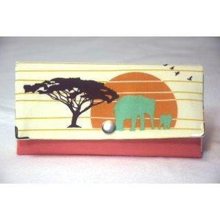 Geldbörse Serengeti - Elefanten