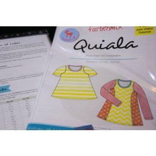 Quiala, Damenshirt, Papierschnittmuster
